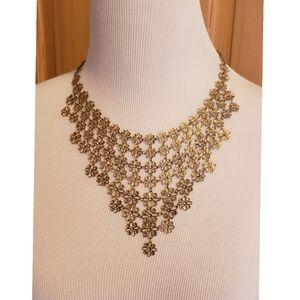 Jewelry - NECKLACE Women's Fashion Jewelry Flower Gold